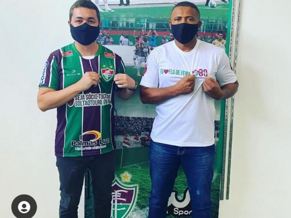 Advogado Ícaro Ivvin será o novo presidente do Fluminense de Feira