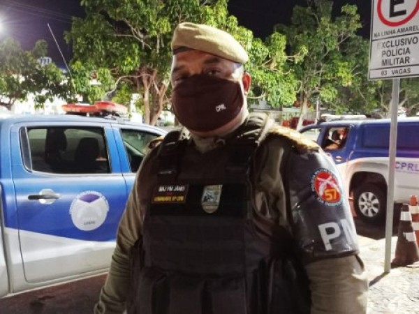 Polícia acaba com cinco festas de paredão na madrugada; uma pessoa detida